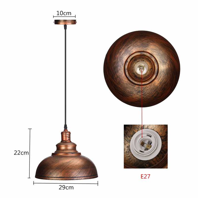 HTB14v4HBoR1BeNjy0Fmq6z0wVXaQ Vintage Pendant Lights Retro Industrial Hanging Chandelier Loft Pendant LightS E27 Dining Restaurant Room Lamp
