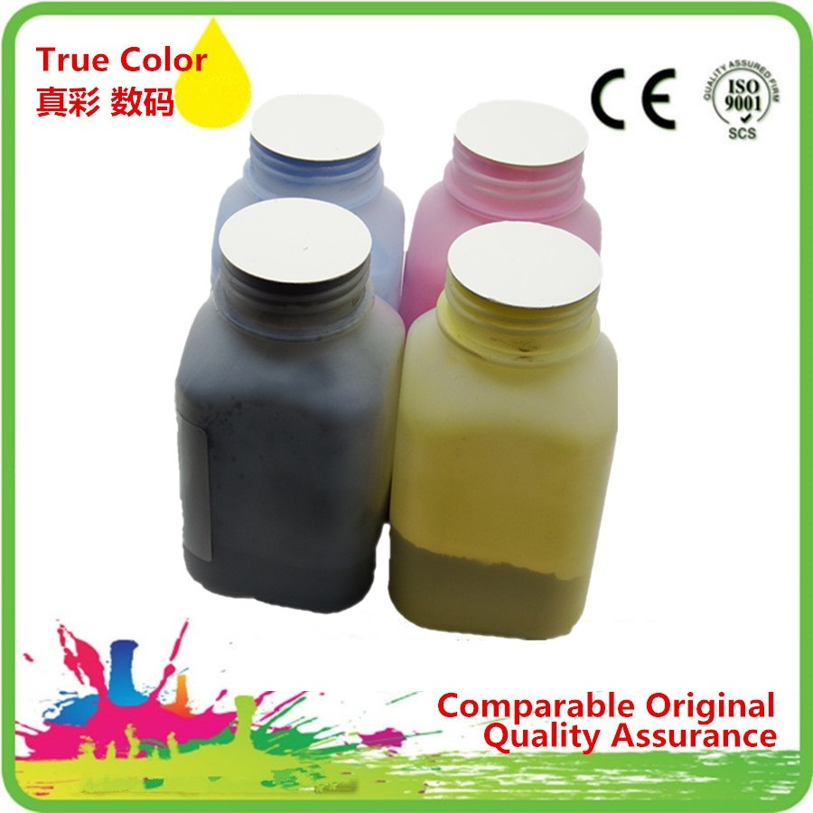 Refill Color Laser Toner Powder Kits for C1600 CX16NF for OKI C110 C130 C160 for Xerox 6121 Laser Printer 40g//Bottle,1 Black,1 Cyan,1 Magenta,1 Yellow