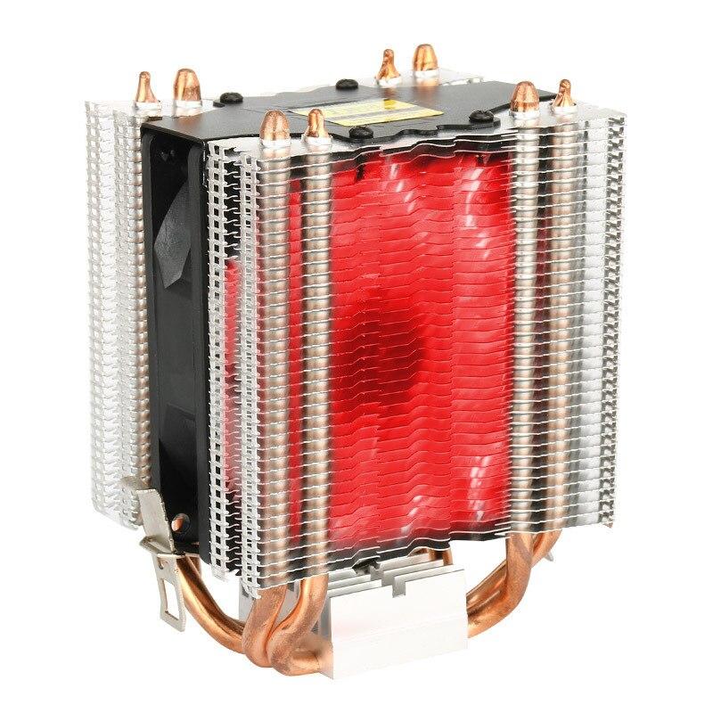CPU Cooler 4 Heatpipe Radiator Quiet 3pin 4pin Heatsink for Intel 1366 2011 1155 775 1156  Fan Cooling for Desktops Computer 3 pin 90mm 25mm cooler fan heatsink cooling radiator for computer pc cpu 12v