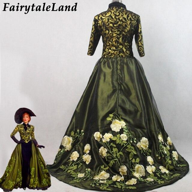 ee8fa124d A Madrasta da cinderela cosplay traje fantasia de Carnaval fantasia Trajes  de Halloween mulheres Cate Blanchett