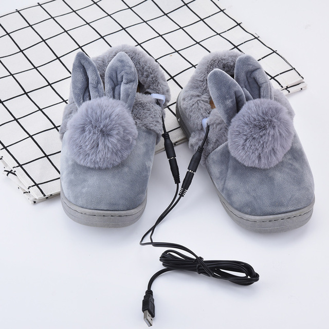 3e092c25aced 2018 Limited New Arrival Heated Shoes Usb Heating Warm Feet Shoe Foot  Warmer Electric Slippers Pad Pads