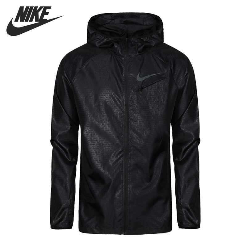 f71d7894 Оригинальный Новое поступление 2018 NIKE легкая куртка мужская куртка с  капюшоном спортивная одежда