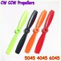 20 pçs/lote DAL 5045 4045 6045 5x4.5 Polegadas PC Fibra De Vidro Multicolor Hélice CW/CCW Para QAV250 Series Frame (10 pares)