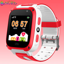 2019 BANGWEI New Children Smart Watch Digital Baby Smart Watch SOS Emergency Help LBS Positioning Tracker Card RELOGIO MASCULINO(China)