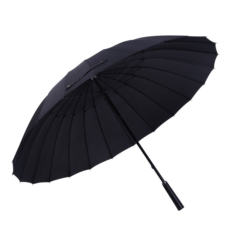 24 Bone Increase Umbrella 2-3 People Female Male Car Luxury Large Windproof Straight Umbrella Umbrella Corporation parasol