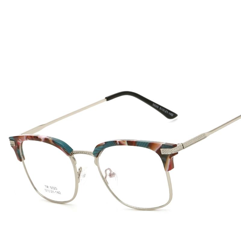 Hindfield moda lujo medio Marcos tr90 lente transparente Gafas ...