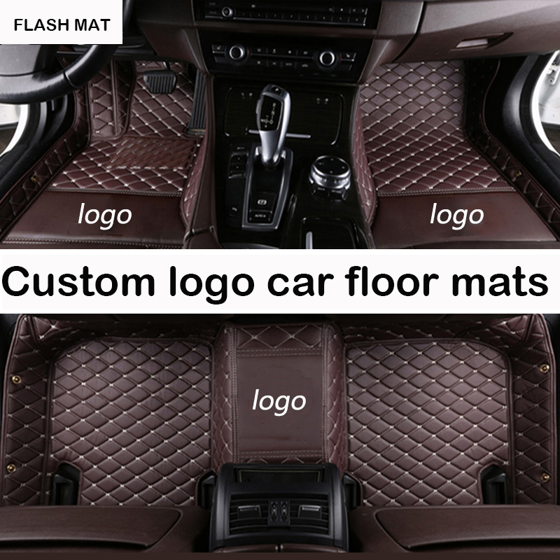Custom LOGO car floor mats for Dodge all models Dodge Journey 2009-2017 Challenger dodge ram 1500 auto accessories car mats