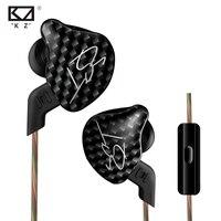 New KZ ZST In Ear Earphone 1DD With 1BA Hybrid Drive HIFI Earphone Running Sport Earphones