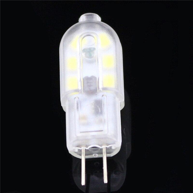 100 шт. Светодиодная лампа G4 DC12V 12 светодиодов мини светодиодная лампа SMD 2835 супер яркая замена галогенная лампа для люстры хрустальная лампа - 5