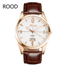 New Sale Fashion Geneva Watches With PU Leather Strap Quartz Men Women Wristwatches Unisex Watch Gift For Male Female Clock