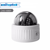 HD 1080P Wireless Dome PTZ IP Camera WIFI Auto Focus 4X Zoom Lens Indoor Audio SD