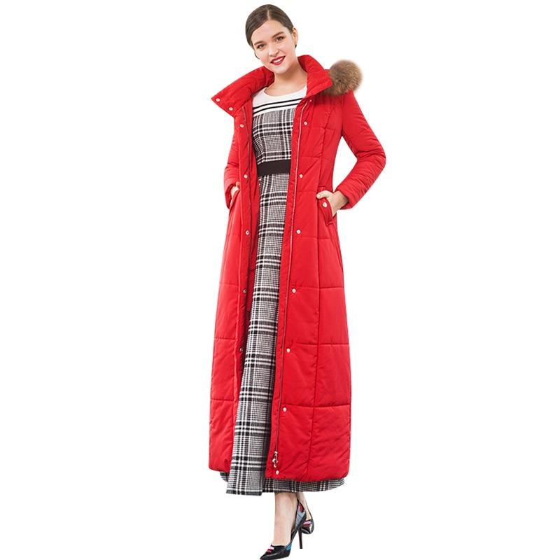 X Long Femmes Outwear D'hiver Taille Chaud Manteau Fourrure Cap Parka Veste La Dz8067 Plus Longue Sustans WHvOnYfO