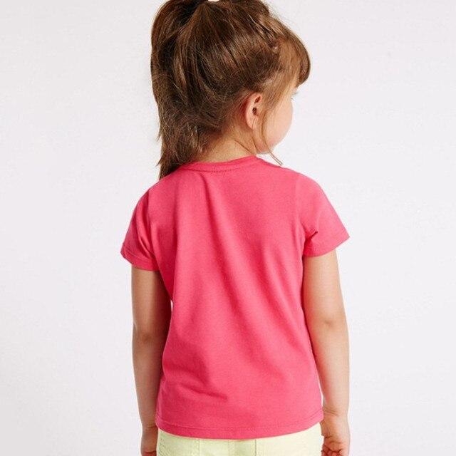 Little maven children clothes 2018 summer baby girls clothes short sleeve tee tops unicorn print Cotton brand t shirt 50961