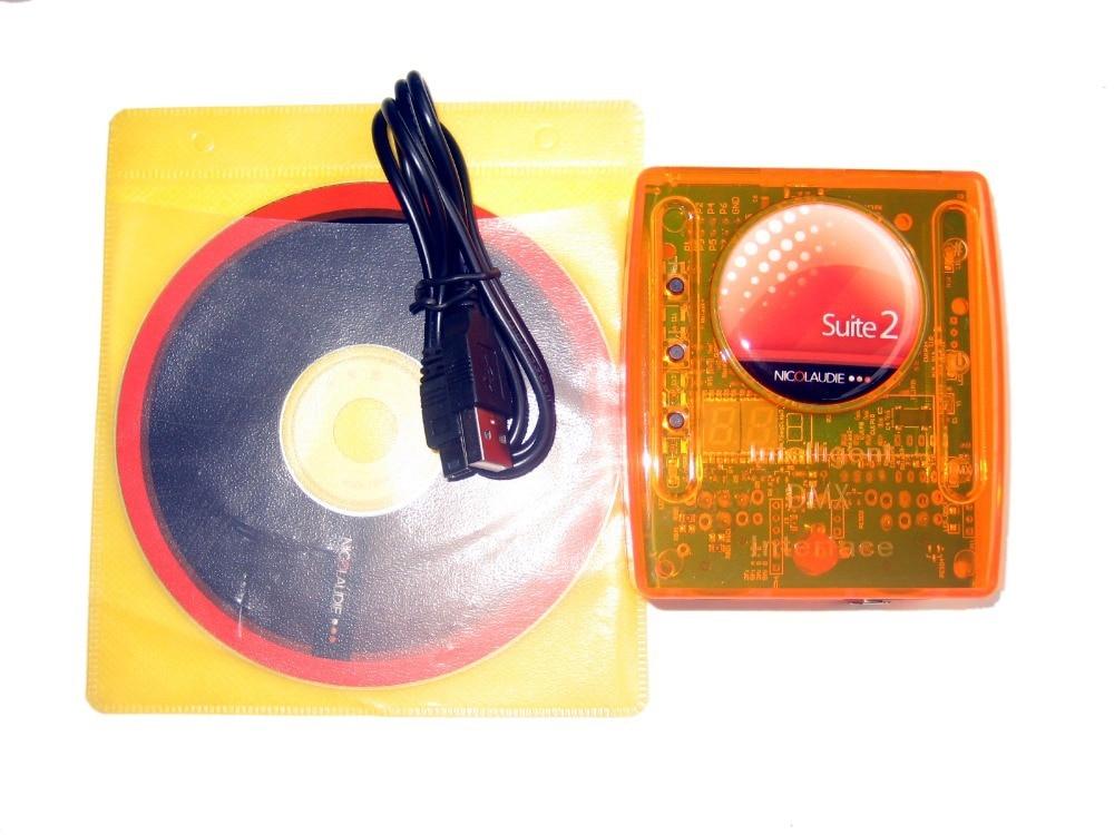 Gratis Verzending 1 stks Sunlite suite 2 Economie Podium Verlichting USB DMX PC Interface Sunlite Suite 1024 DMX Kanalen EC controller - 3