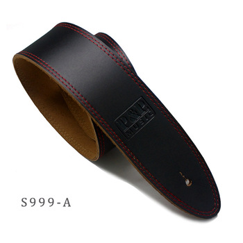High-class Cattle Hide Guitar Strap Real Leather Handcraft for Electric Guitar Bass Acoustic Guitarra Folk Guitar Accessories