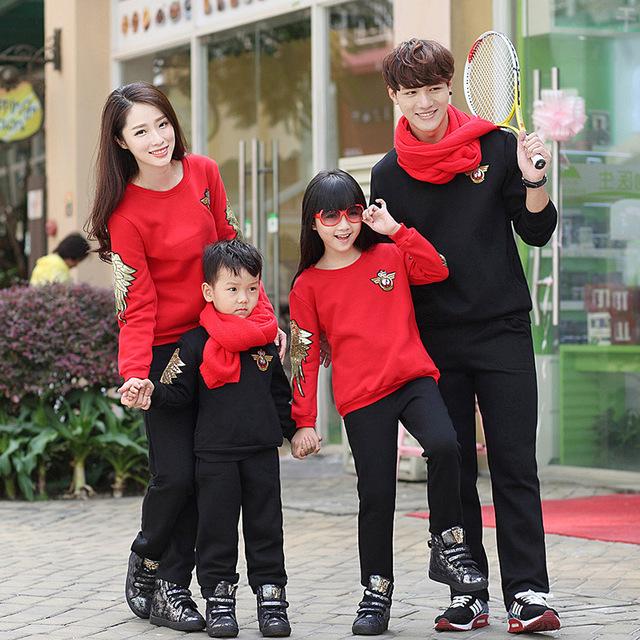 Ángel ala Family Clothing madre / madre e hija ropa padre e hijo que arropan la ropa de la familia ropa estilo, LB43
