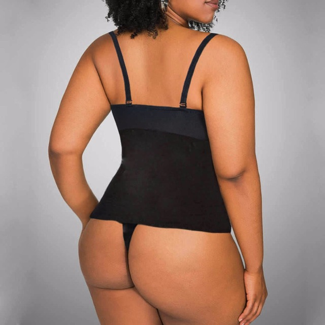 f328d581f S-5XL Tummy Control Slimming thong one piece body suit bodysuit full body  shaper Waist trainer for post partum women E125
