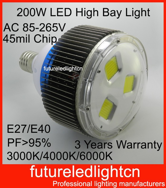 3pcs/lot Led Industrial Lights Best Quality 200W Led High