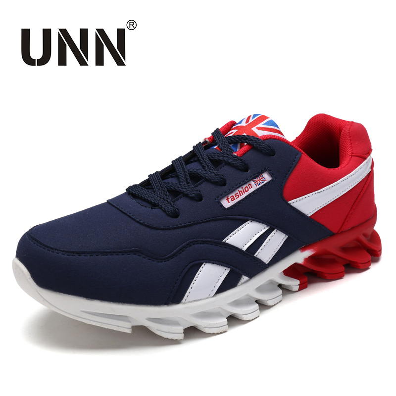 UNN Summer Men Casual Shoes Breathable Mens Flats Shoes Fashion Shoes Male Lace up British Style Zapatillas Hombre Mesh Shoes tangnest men pu leather shoes 2017 british style men lace up casual shoes solid platform flats for male comfort shoes xmr2422