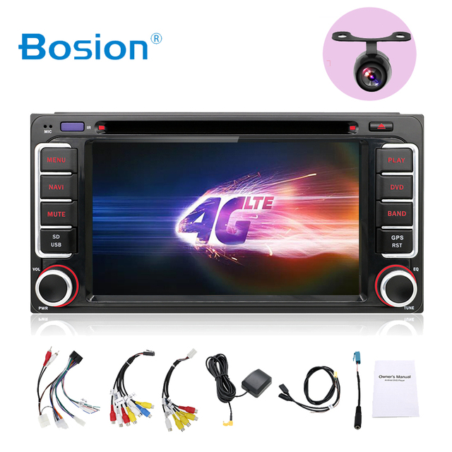 car multimedia player Quad Core 2 Din Android 8.0 Car DVD for Toyota Rav4 Audio Video Stereo GPS Navigation Radio RDS 3G Wifi BT