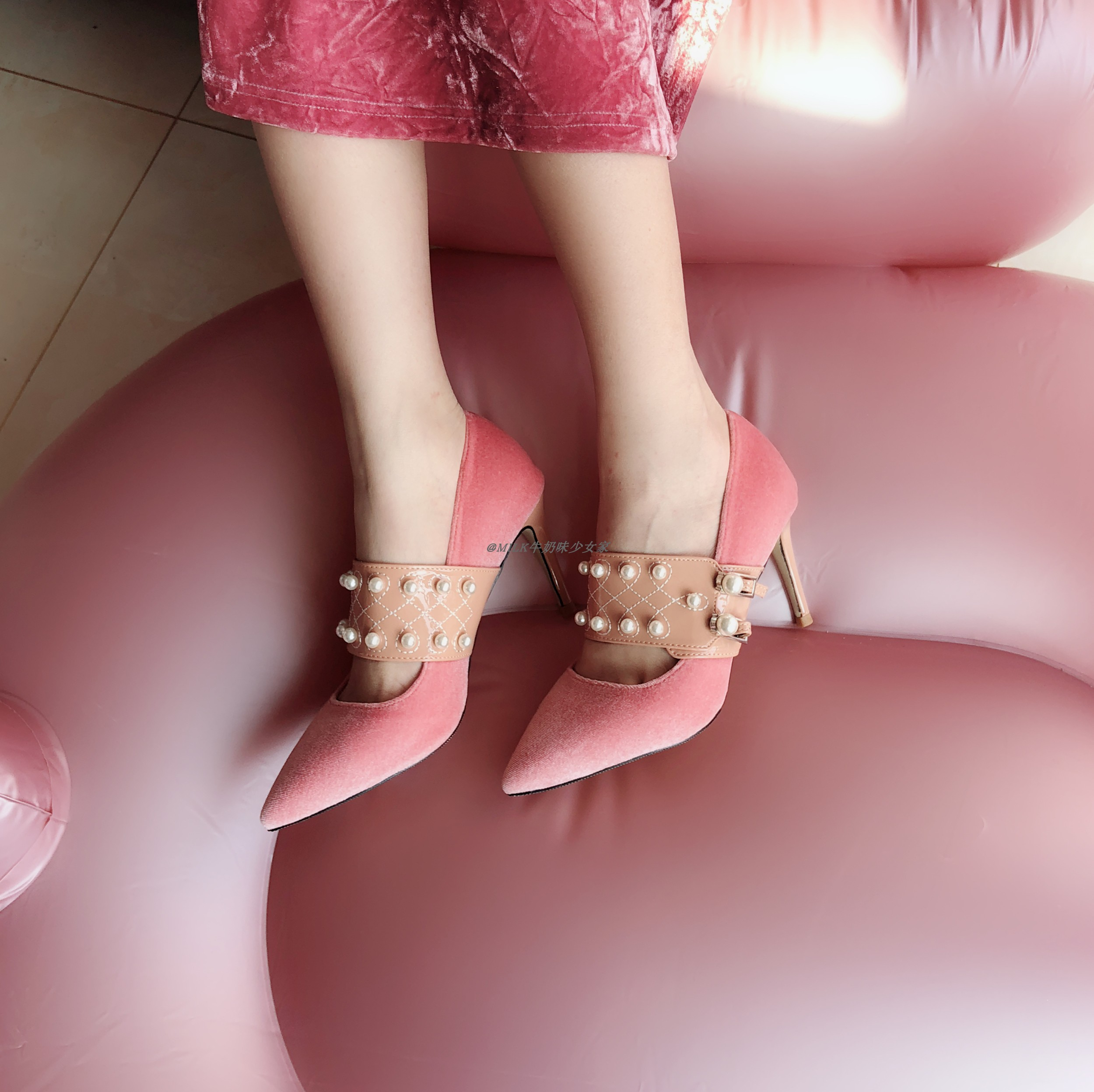 En Peu Hauts Profonde 2019 À Talons Sauvage Pointu Chaussures 1 Bouche Printemps Avec Et Daim D'été De Fine Femmes lFc1TJK