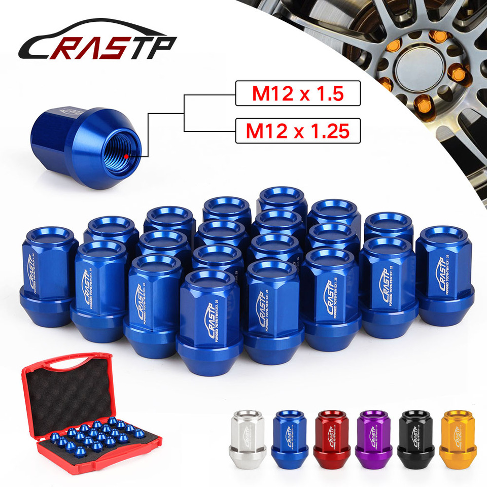 1 KEY LOCK NUTS SECURITY LOCK SET Per Le Ruote KIA Toyota Honda M12x1,5