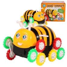 Развивающие игрушки Новый электрический Пчелка игрушечный автомобиль 3 лет ребенка развивающие Батарея работает мини-игрушка Классический игрушки, подарки