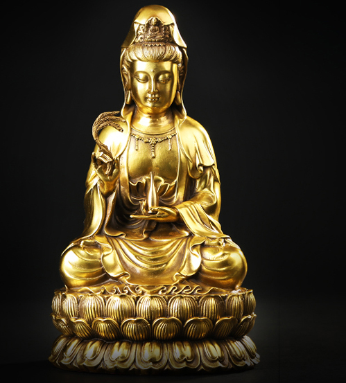 28 CM large size Guanyin bodhisattva Buddha # Buddhist disciple HOME family efficacious Protection #GOOD FENG SHUI copper statue28 CM large size Guanyin bodhisattva Buddha # Buddhist disciple HOME family efficacious Protection #GOOD FENG SHUI copper statue