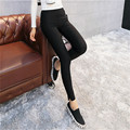 Leggins Black black legging White Leggins Pants Leggings Legins Women Stretch Pencil Pants calca legging legginsy Trousers Women