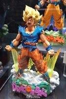 Hot Sale Comic Anime Dragon Ball Z Super Estrelas Mestre Diorama O Son Goku Goku A Escova Batalha Ação Banpresto figura