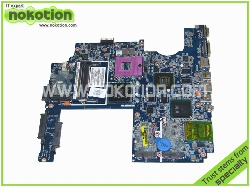NOKOTION 507169-001 LA-4083P Laptop Motherboard for Hp Pavilion Dv7-1200 JAK00 REV 1.0 Intel PM45 DDR2 GeForce 9600M Mainboard free shipping 516294 001 board for hp pavilion dv7 laptop motherboard with for intel pm45 chipset 150720c