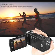 Mini Transportable LCD Display HD Digital Digicam 16MP 16X Digital Zoom 720P 30FPS Anti-shake Video Recorder DV Camcorder DVR 2017 new