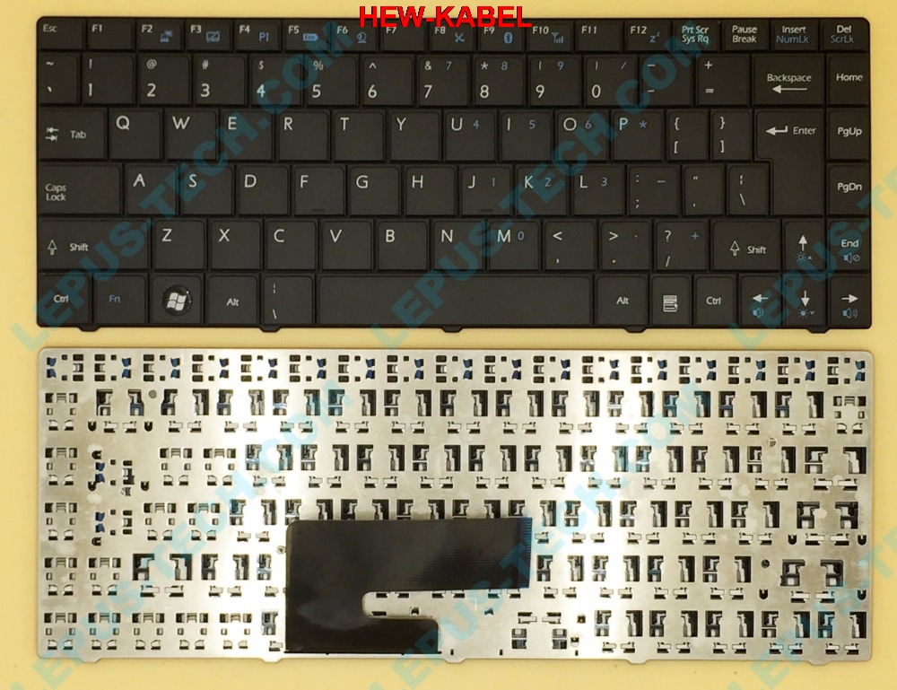 Original US UK Keyboard for <font><b>MSI</b></font> CX420 CX460 <font><b>CX480</b></font> CR430 X420 N4205 FX400 English keyboard black image