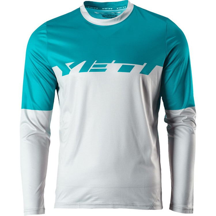 New Arrival Mountain Bike DH Bike Jerse Motocross Jersey Cycling Jersey Breathable Light Quick Dry Bicycle Jersey MTB Off Road r