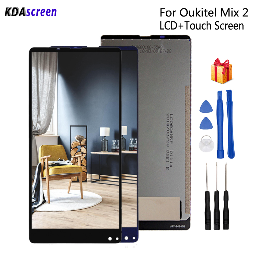 Original For Oukitel MIX 2 LCD Display Touch Screen Assembly For Oukitel MIX2 Screen LCD Display Phone Parts Free ToolsOriginal For Oukitel MIX 2 LCD Display Touch Screen Assembly For Oukitel MIX2 Screen LCD Display Phone Parts Free Tools