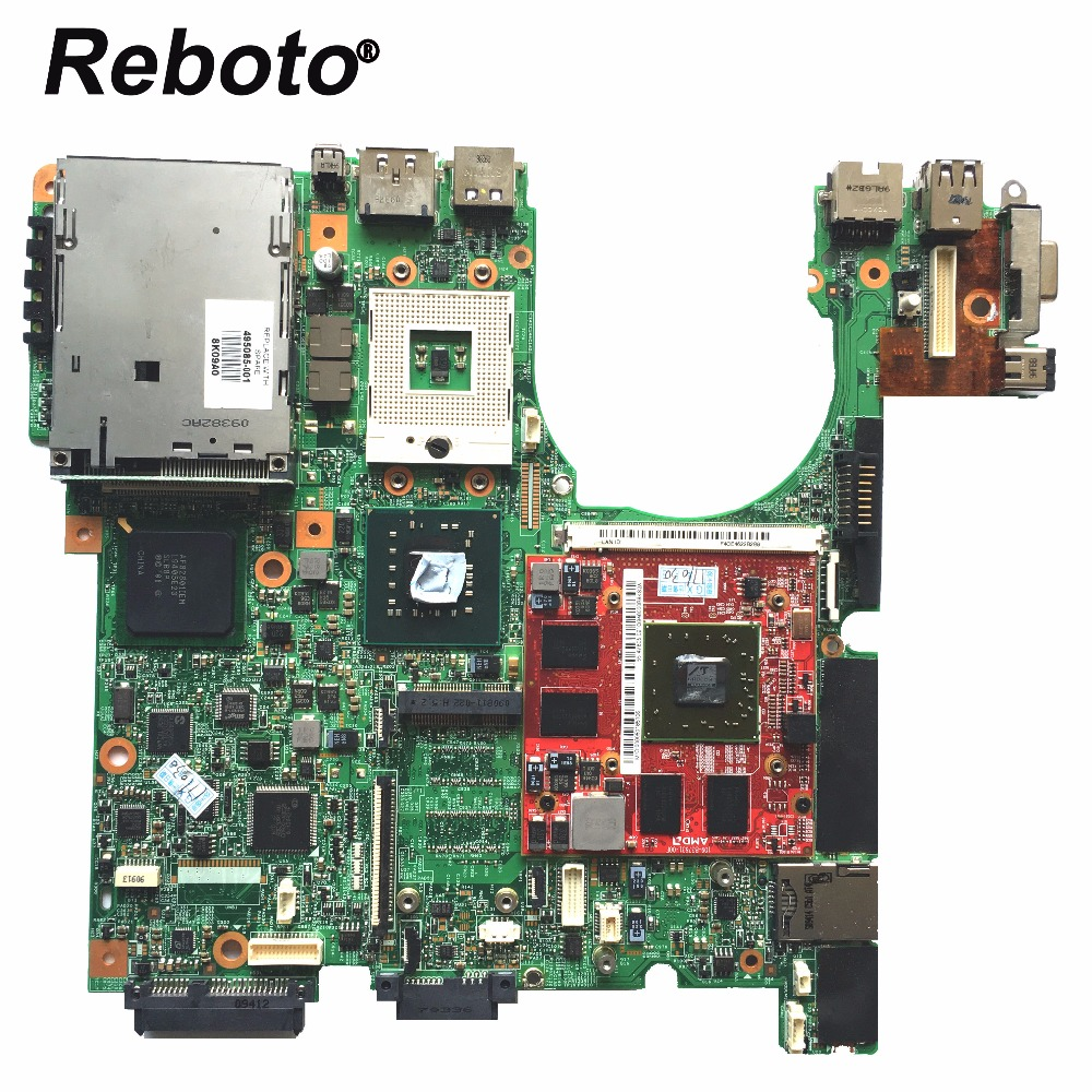 Reboto DDR2 Laptop Motherboard Mainboard HP 500907-001 for 8530P HD3650 1GB PM45 100%Tested