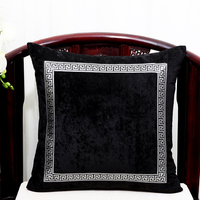 High End Luxury Lace Velvet Pillow Cover Case Christmas Cushion Covers for Sofa Chair Decorative Cover Cushion Pillow