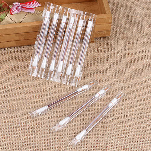 HOT 5 Pcs One-time Disinfect Cotton Swab Buds Iodine Inside for Travel Outdoor Sport Tools & Accessories
