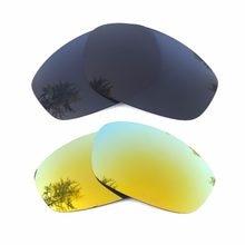 f0216352776b8 Negro y 24 K oro espejo polarizado lentes de reemplazo para licuadora marco  100% UVA y UVB