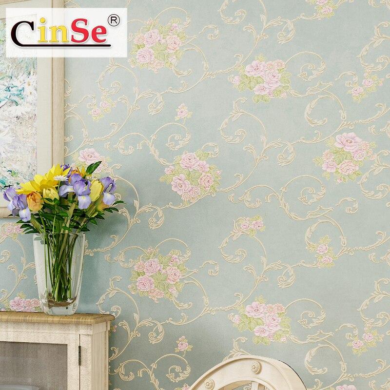 Cinse country non woven relief 3d mural wallpaper for - Papel pintado 3d ...