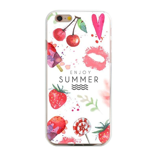 Hot salling multicolor animal plant fruit flowers soft tpu protective back cover case for iPhone 5 5s se phone case05