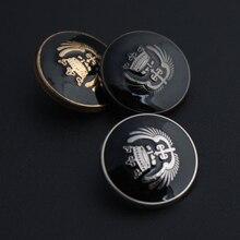 Silver/Gold/Gunblack Copper Metal Button Retro Jeans Coat Jacket Clothes Decorative Buckle Accessories 200 pcs/lot
