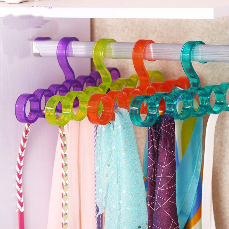 2016 Hot sale new home organization racks Multi-Function Tie Belt Scarf Storage Holders good quality bath towel shelf