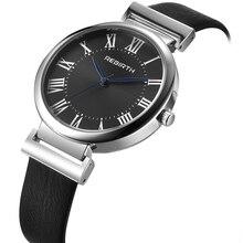 Novas Mulheres Marca de Moda Senhora Elegante Business Casual Elegante relógio de Aço de Luxo Relógio Feminino Pulseira de Relógio de Pulso de Quartzo RE034