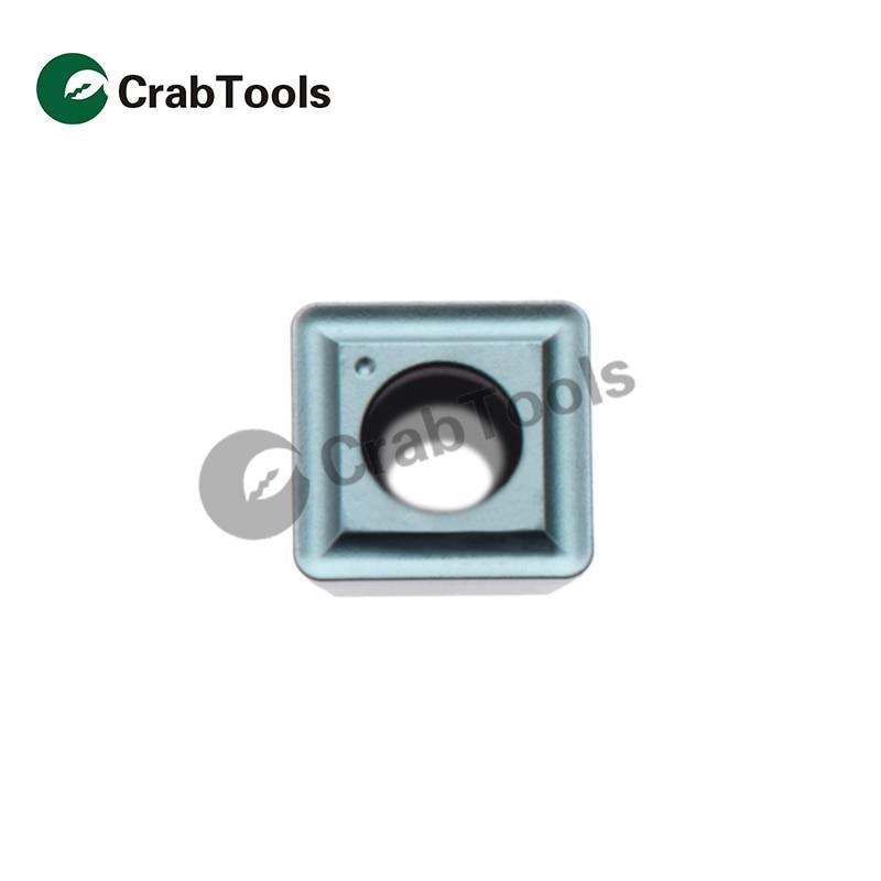 Crab Tools Teagutec 10PC SPMG 140512 DG TT8020 Metal Turning Lathe Tools Turning Cutter Carbide Insert CNC Tool Tip Machine 5pcs set new 3 8 tip carbide indexable turning tool set mayitr good hardness precision insert lathe tool bit