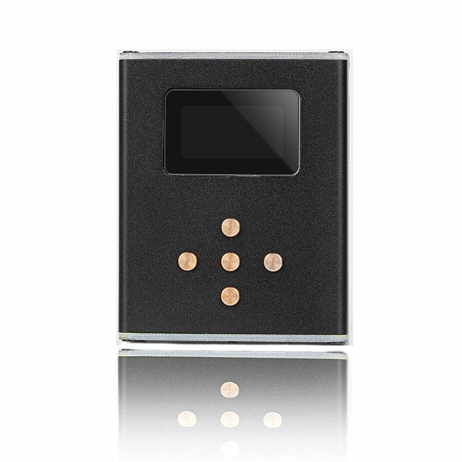 Wooeasy DIY MP3 Zishan Z3 Player Lossless HiFi Music Player Suporte Amplificador de Auscultadores DAC AK4490 Z2 Atualização de Versão Com OLED