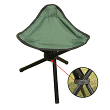 Outdoor Camping Tripod Folding Stool Chair Fold Fishing Foldable Portable Fishing Mate Fold Ultralight Chairs Home Ottoman