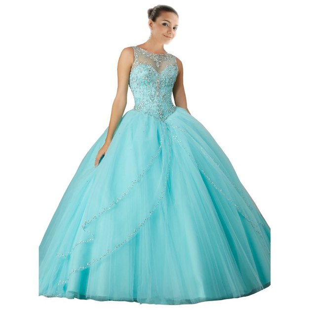 Elegant Aqua Dresses