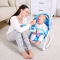 2016 Hot Sale electric baby rocking chair baby swing placarders chair chaise lounge rocking chair electric cradle bed baby chair
