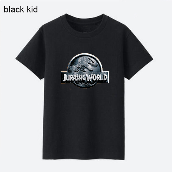 100% cotton kid jurassic world t shirt kids clothes boy tshirt girl shirts boys t-shirts girls tops summer top unisex template женская футболка other 2015 3d loose batwing harajuku tshirt t a50